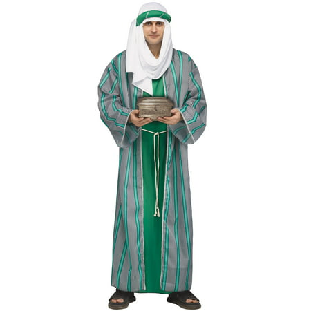 Biblical Christmas Three Wiseman 3 Wisemen Robe Adult Mens Costume Holiday Asst - Christmas Holiday Costumes