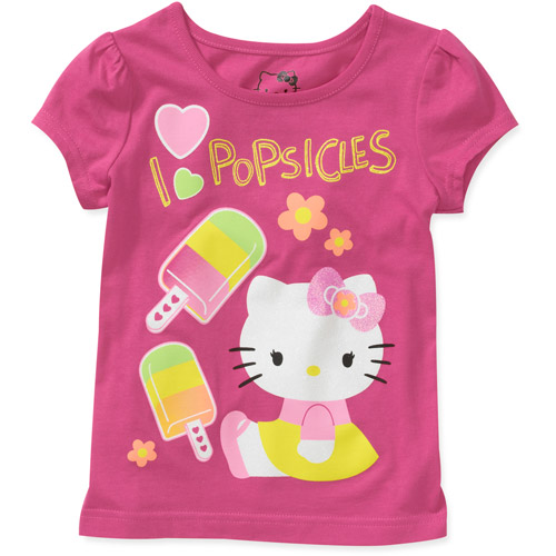 Hello Kitty Baby Girl's Scented Graphic Tee