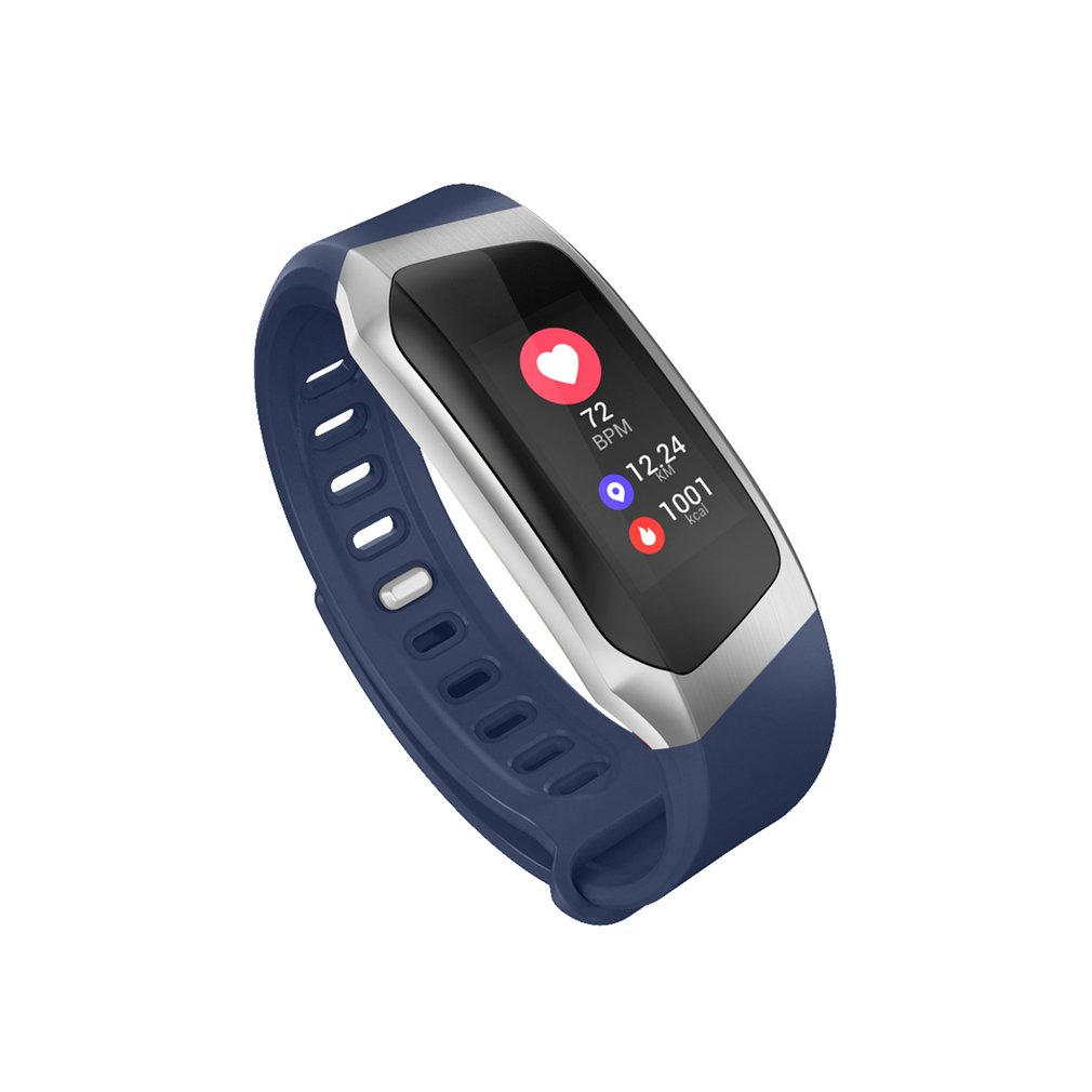 0.96 Inch Screen IP67 Smartband Blood Pressure Oxygen Heart Rate Monitor Band - image 9 de 10