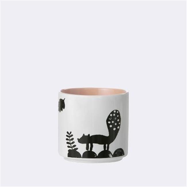 Ferm Living KIDS 5350 Landscape Porcelain Cup - Rose - 7.3 x 7.3 cm.
