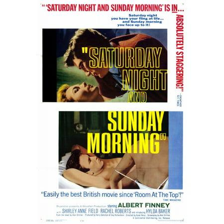 Saturday Night And Sunday Morning  1961  27X40 Movie Poster