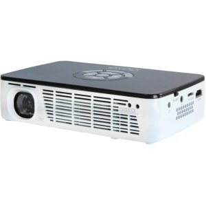 AAXA P300 HD Portable Pico Business LED Projector with 60+ Minute Li-ion Battery, HDMI and Media Player, 500