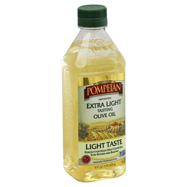 Pompeian® Extra Light Tasting Imported Olive Oil 16 fl. oz. Bottle
