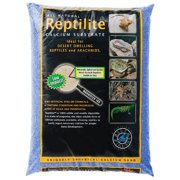 Blue Iguana Reptilite Calcium Substrate for Reptiles - Big Sky Blue 40 lbs - (4 x 10 lb Bags)