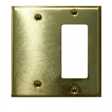 - Switchplate Solid Brass GFI Blank | Renovators Supply