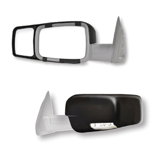 80710 Fit System 09-17 Custom Fit Towing Mirror Dodge Ram Pick-Up Truck Pair by Fit System
