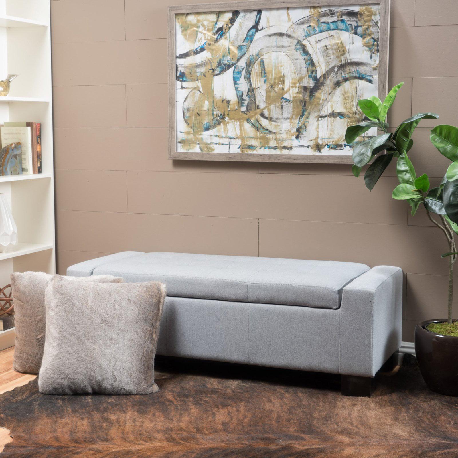 Gorosei Fabric Storage Indoor Bench