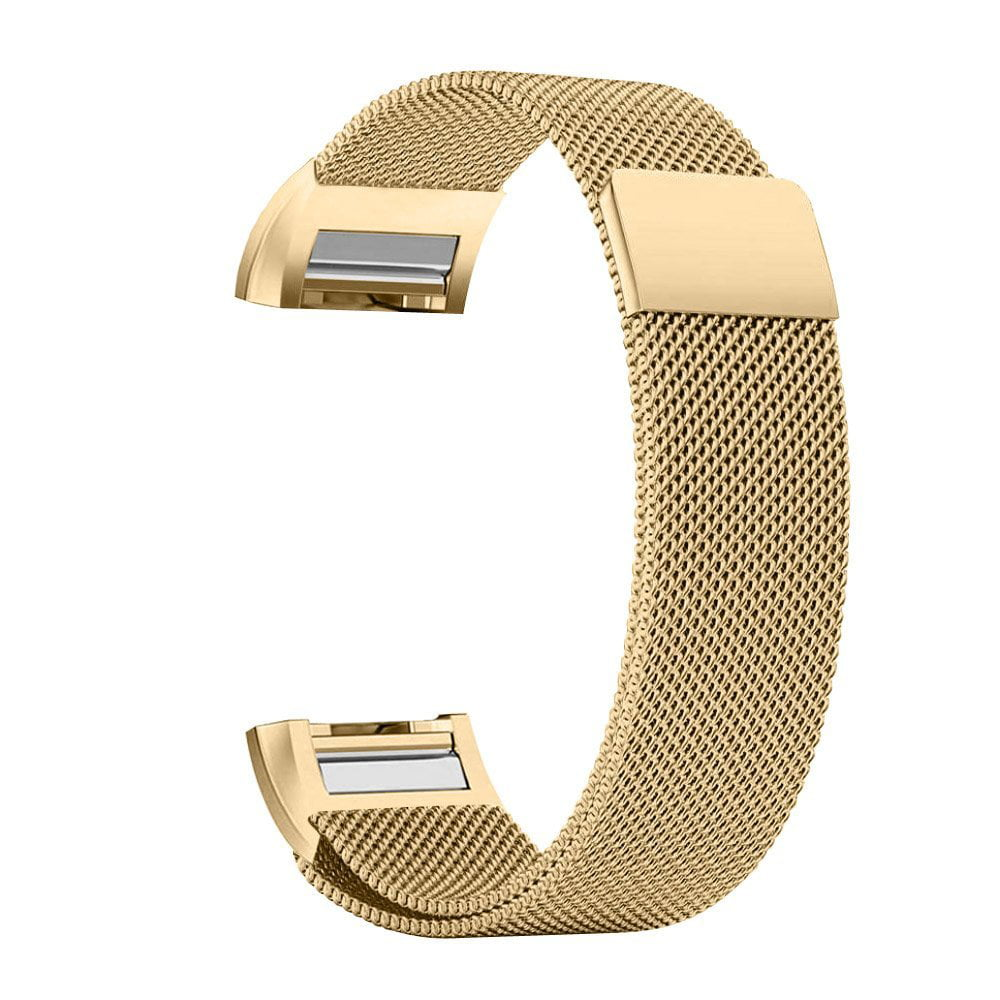 iGK Fitbit Charge 2 Bands Replacement Accessories Milanese Loop Stainless Steel Metal Bracelet Strap with Unique Magnet... by iGK
