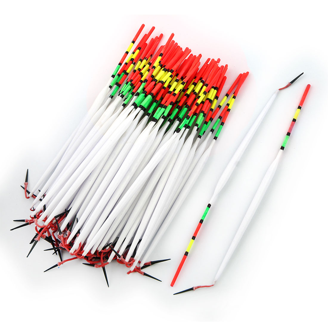 Fisherman Fishing Tackle Tool Drift Tube Floater Bobber 18cm Length 70 Pcs by Unique-Bargains