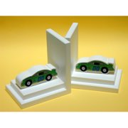 One World Stock Car Book Ends (Set of 2)