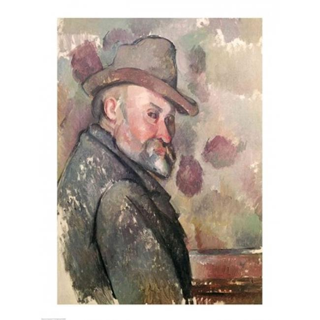 Posterazzi BALXIR82887LARGE Self Portrait Poster Print by Paul Cezanne - 24 x 36 in. - Large - image 1 of 1
