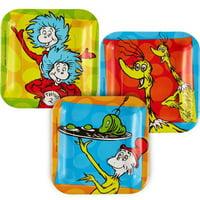 Dr. Seuss 'Polka Dots' Small Paper Plates (8ct)