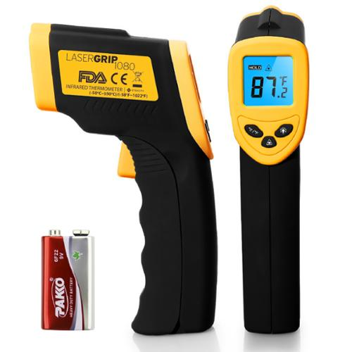 Etekcity Digital Thermometer Laser Infrared Temperature Gun Lasergrip 1080