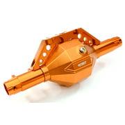 Integy RC Toy Model Hop-ups C26801ORANGE Billet Machined T8 Front Axle Housing Kit for Axial SCX-10, Dingo, Honcho & Jeep
