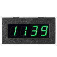 "KKmoon High Precision 0.56"" 4 LED Digital Frequency Tachometer Car Motor Speed Meter RPM Measurement Tester 5-9999R/M DC 8-15V"