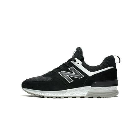 Mens New Balance 574 Fresh Foam Black Grey White