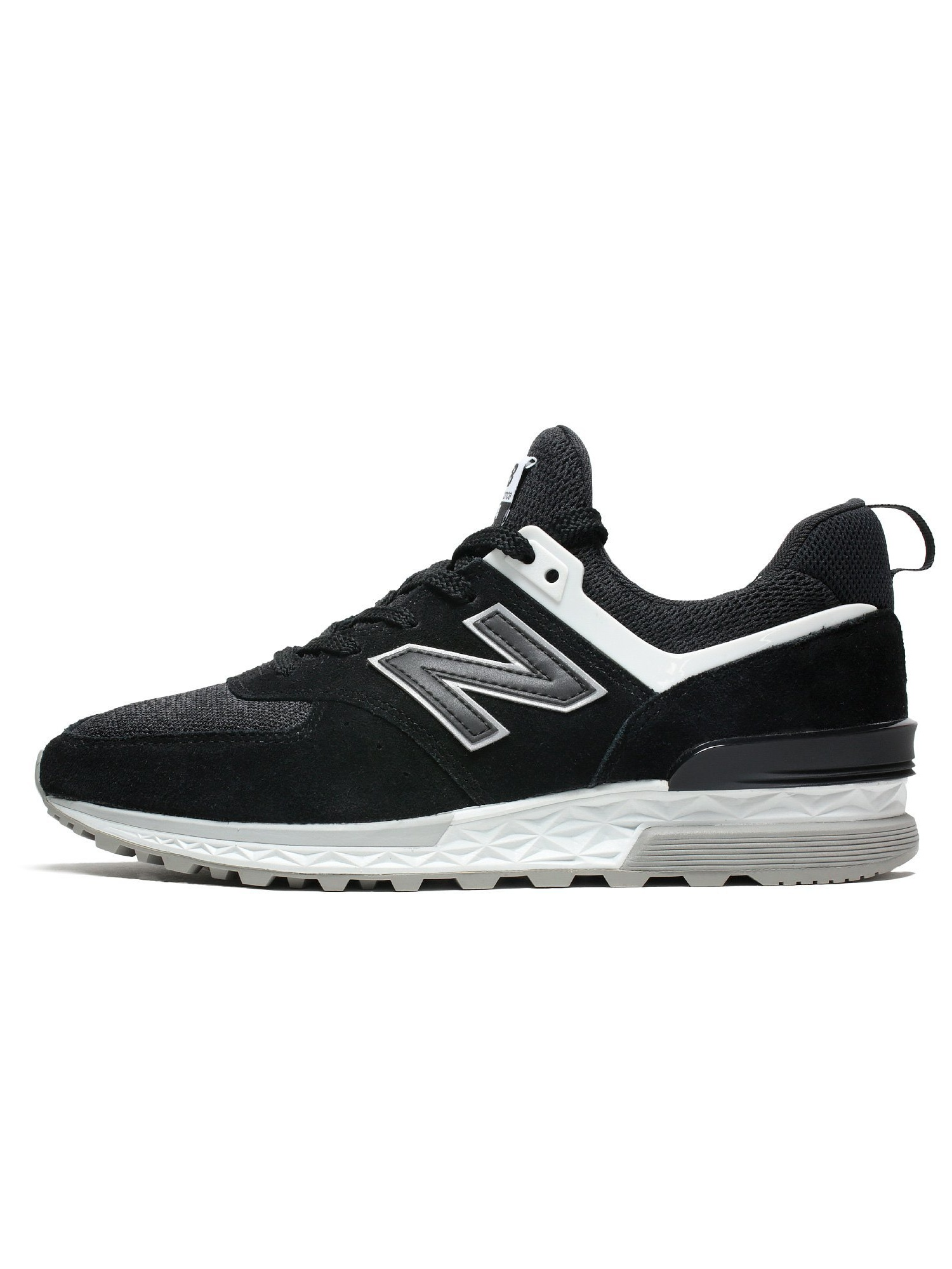 Mens New Balance 574 Fresh Foam Black Grey White MS574CC