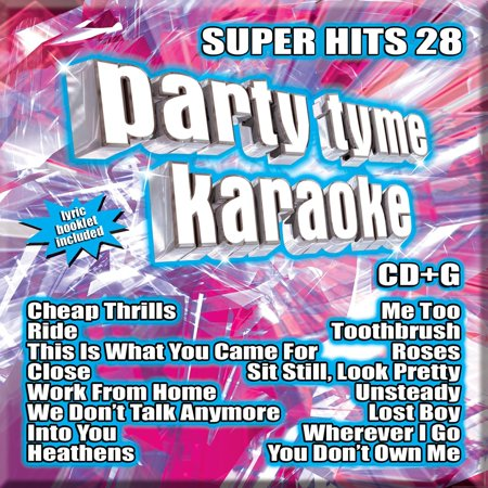 Party Tyme Karaoke - Super Hits 28 [16-song CD+G], By Party Tyme Karaoke Artist Format Audio CD From USA (Party City Halloween Songs)