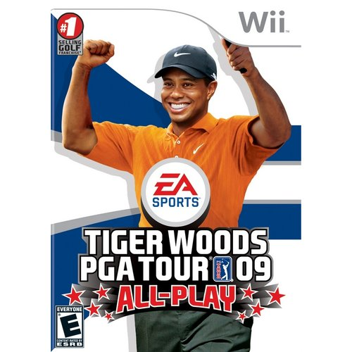 Tiger Woods PGA Tour 09 All-Play - Wii