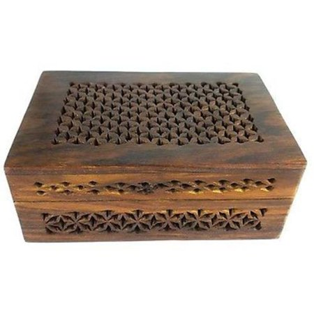 Matr Boomie - B Handmade Lattice Cutwork Wood Box