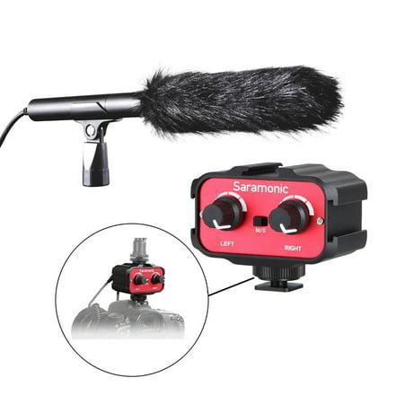 Movo DSLR Video Audio Kit w/ Supercardioid Shotgun Microphone & 2-Channel Mixer