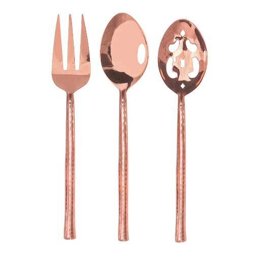 David Shaw Silverware Artisan 3 Piece Hostess Set