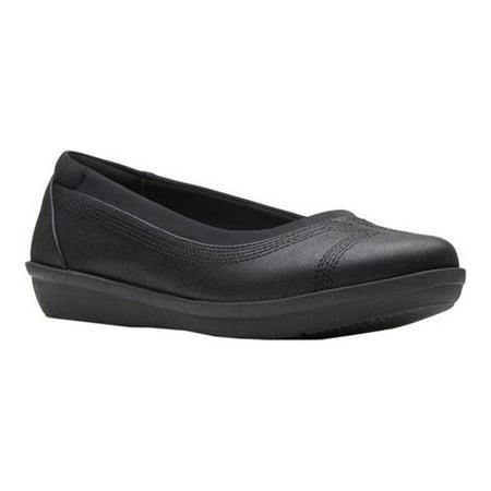 Women's Clarks Ayla Low Ballet Flat Metallic Bridal Shoes