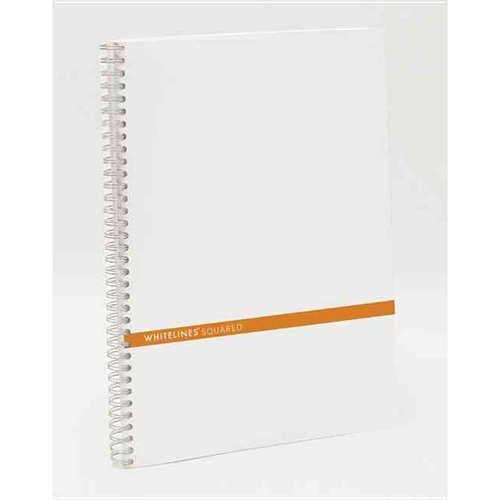 Whitelines A4 Squared Notebook : Supporting Your Ideas