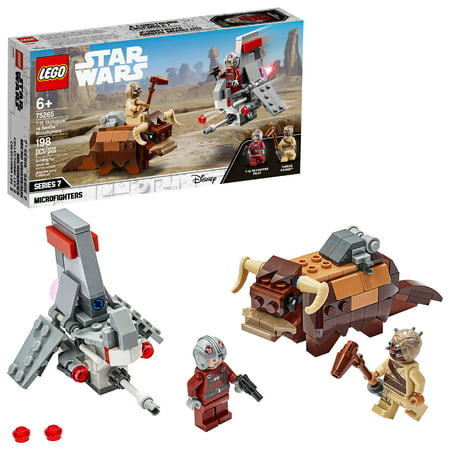 LEGO Star Wars: A New Hope T-16 Skyhopper vs Bantha Microfighters 75265 Collectible Toy Building Kit for Kids (198 Pieces)