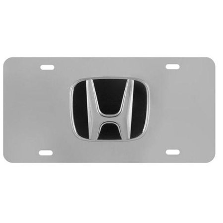 - Official Honda 3D License Plate - Stainless Steel
