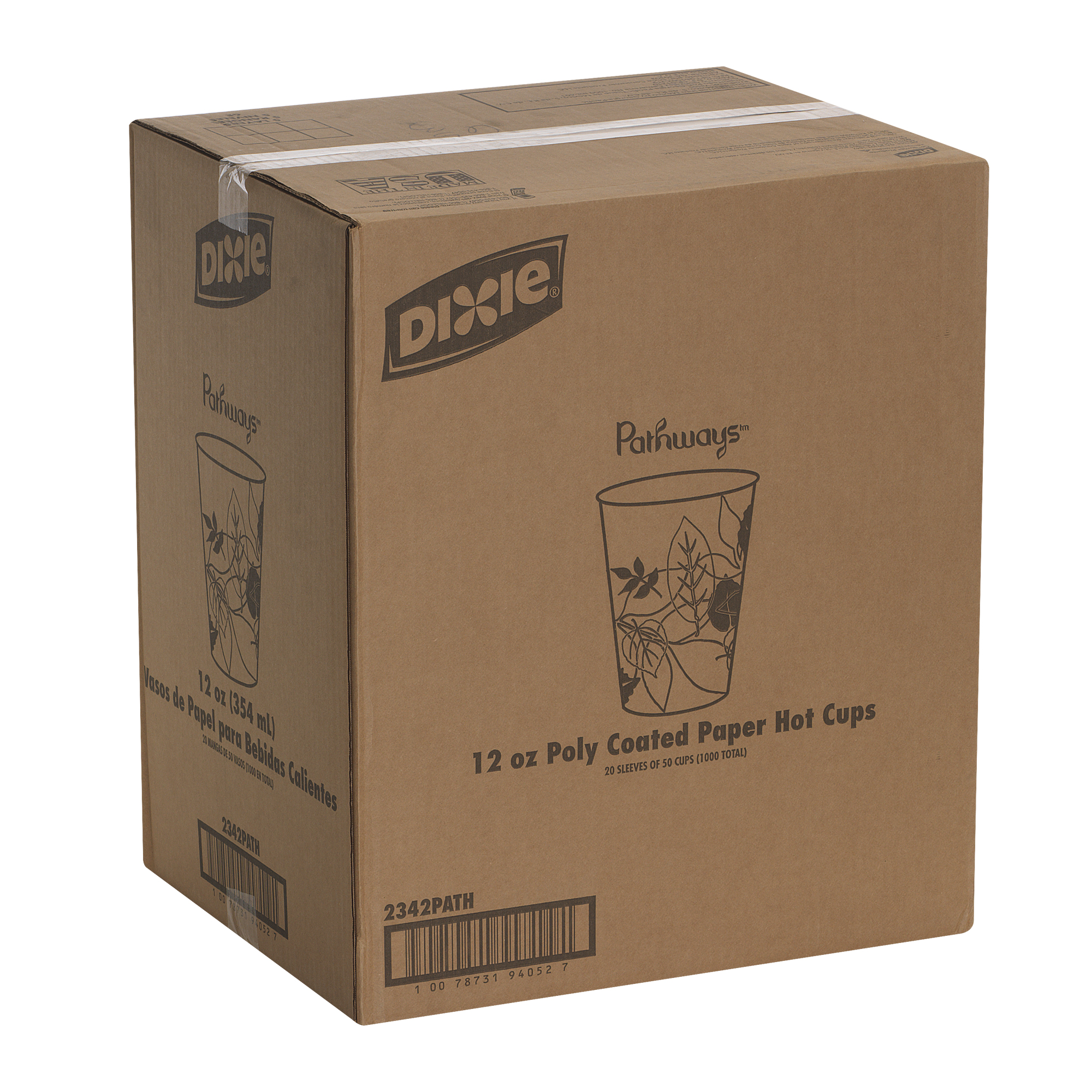 Terrific Dixie 2342Path 12 Oz Paper Hot Coffee Cup By Gp Pro Georgia Pacific Pathways 500 Count 25 Cups Per Sleeve 20 Sleeves Per Case Andrewgaddart Wooden Chair Designs For Living Room Andrewgaddartcom