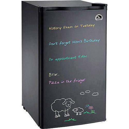 Igloo Eraser Board Refrigerator, 3.2 cu ft