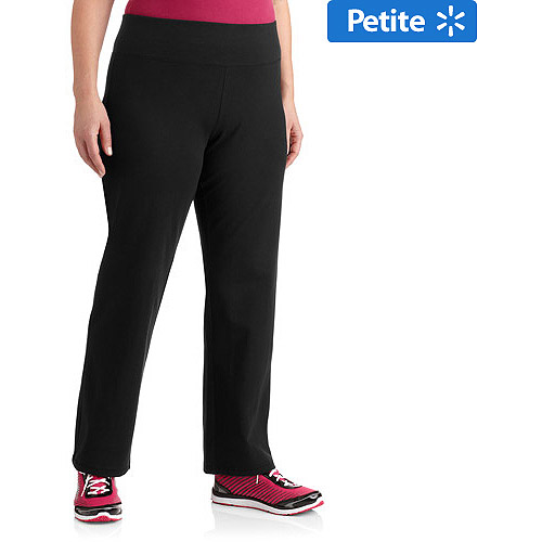 Danskin Now Women's Plus-Size Petite Yoga Pant with Printed Waistband