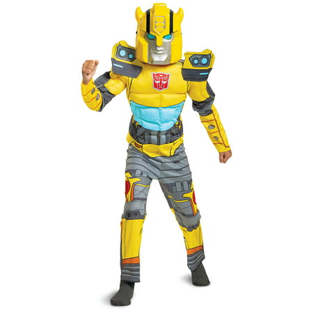 Russell Brand Costume For Halloween (Hasbro's Transformers Boys Bumble Bee EG Muscle Halloween)
