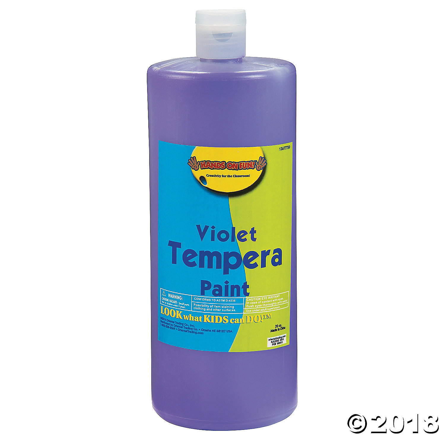 Violet Tempera Paint(pack of 1)