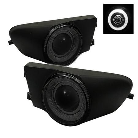 Spyder BMW E39 5-Series 97-00 Halo Projector Fog Lights w/Switch - Smoke Bmw Fog Light Switch