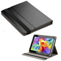 """Insten Universal 9 - 10 Inch Leather Tablet Case for Samsung Galaxy Tab S2 9.7"""" / Visual Land Prestige Prime 10E Pro 10D Elite 10QS / RCA 10 Viking Pro Pro10 Edition II / iPad 4 3 2 1 Air 2nd 1st"""