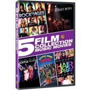 5 Film Collection: Music Movies (DVD + Digital Copy) (With INSTAWATCH) (Walmart Exclusive) (Widescreen) by