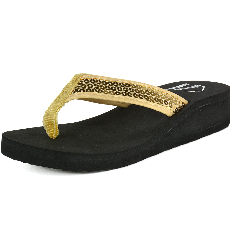 4cd4c4b339fe90 GFF Grass Flip Flops - Men s Faux Grass Flip-Flop Sandals - Recycled Rubber  Sole - Green - Walmart.com