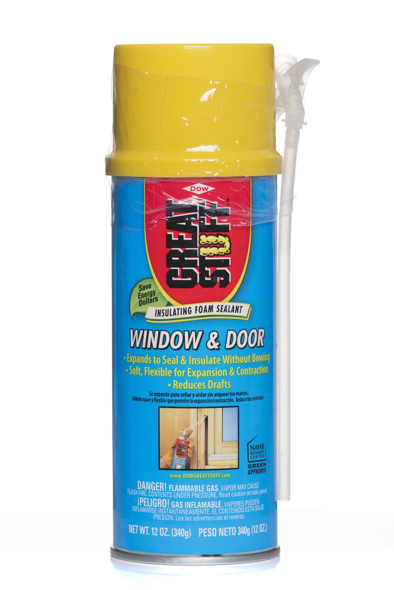 GREAT STUFF Window & Door Insulating Foam Sealant 12 oz