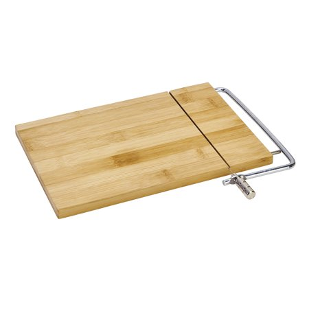 Kitchen Details Bamboo Cheese Board with Slicing Cable (Dims: 10.5 x 6.5 x .5) ()