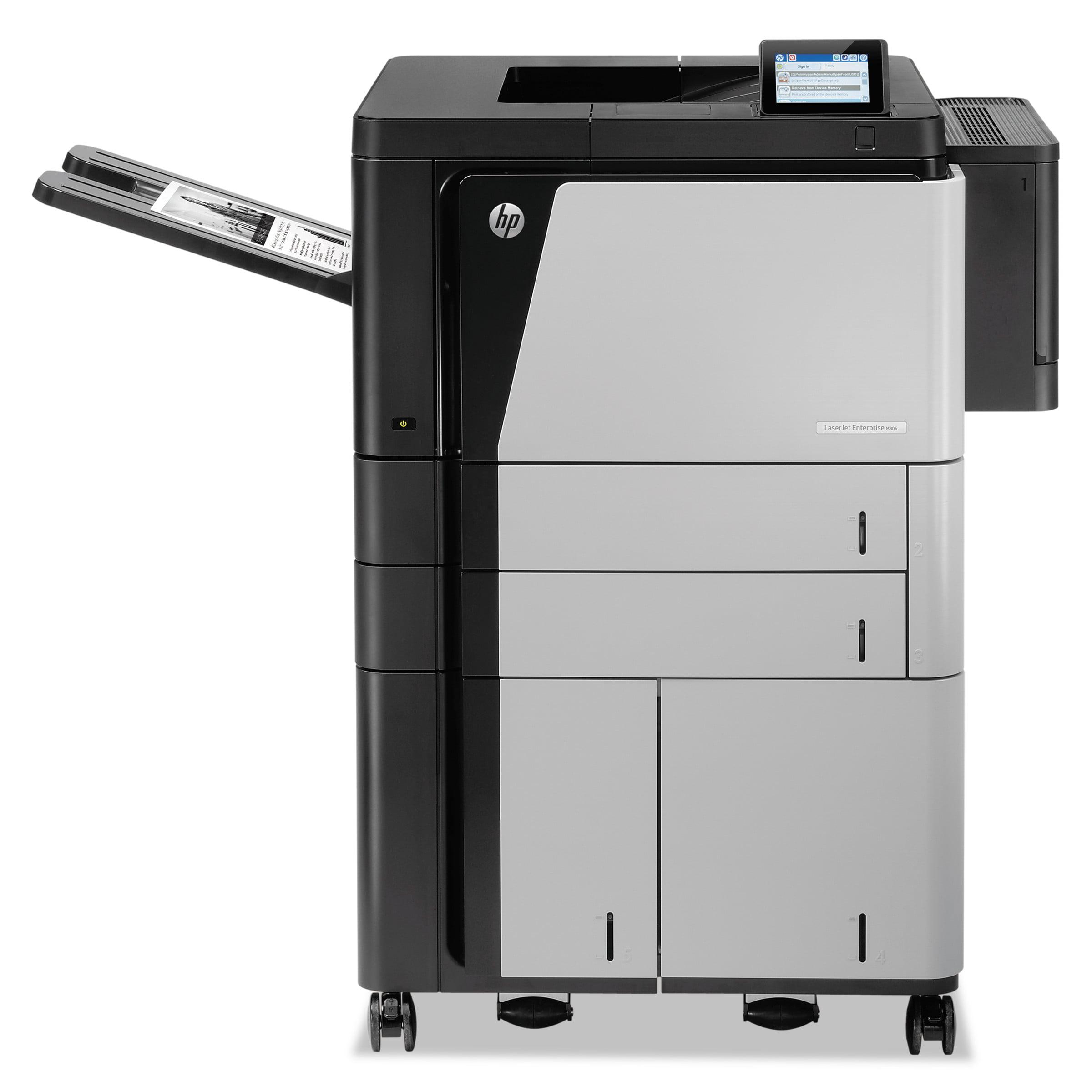HP LaserJet Enterprise M806x+ Laser Printer by HP