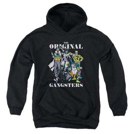 Trevco Dc-Original Gangsters - Youth Pull-Over Hoodie - Black, Large - Gangster Items