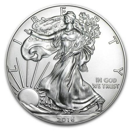 2016 American Silver Eagle 1 oz Silver Coin
