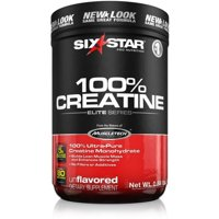 Six Star Pro Nutrition Elite Series 100% Creatine Powder, Unflavored 14.08 oz (Pack of 2)