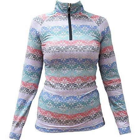 Bula Women Modly Mock Neck Shirt Xs M Us