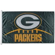 WinCraft Green Bay Packers 3' x 5' Single-Sided Horizontal Flag