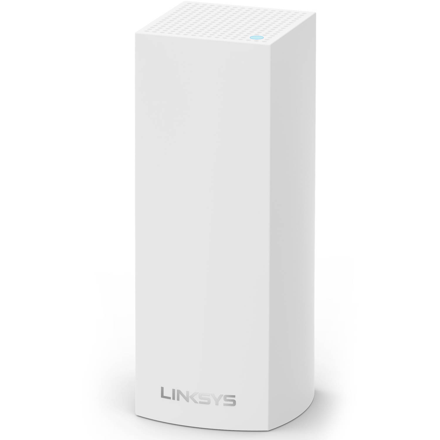 Linksys Velop AC2200 MU-MIMO Tri-Band Whole Home Wi-Fi, Bluetooth Enabled, Integrated with Amazon Alexa, 1-Pk - White (WHW0301)