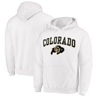 Fanatics Branded Colorado Buffaloes Campus Pullover Hoodie - White
