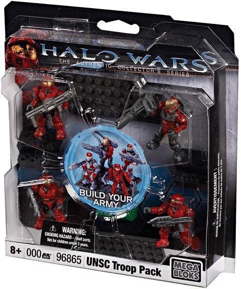 Halo UNSC Troop Pack Set Mega Bloks 96865 by